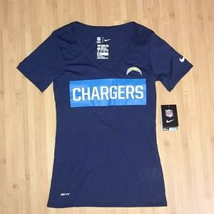 NWT Nike Tee Chargers NFL Team Apparel
